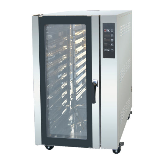 Hotel Catering Equipment Supplier Hot Air Convection Oven with Steam Function