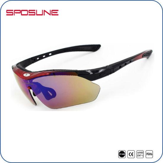 a63b669ad57 Polarized Prescription Mens Womens Sport Sunglasses 2016 New Myopia Frame  Insert Interchangeables Lens Cycling Driving Glasses