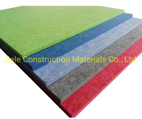 Pet Acoustic Panels High Density Sound Absorption Polyester Felt Acoustic Panels