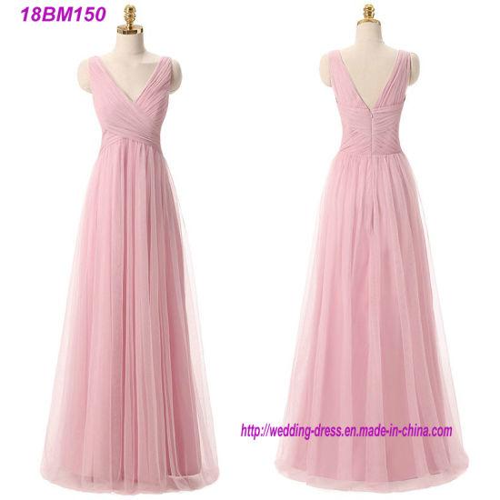 Criss-Cross Chiffon Fat Long Bridesmaid Dress Patterns