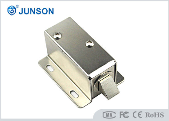 New Design Smallest Cabinet Lock Steel Material, All Cabinet, 12V / 24V / 6V Optional