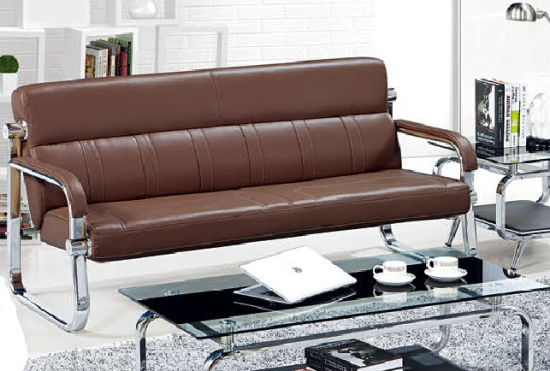Hot Leather Sofa With Matel Frame