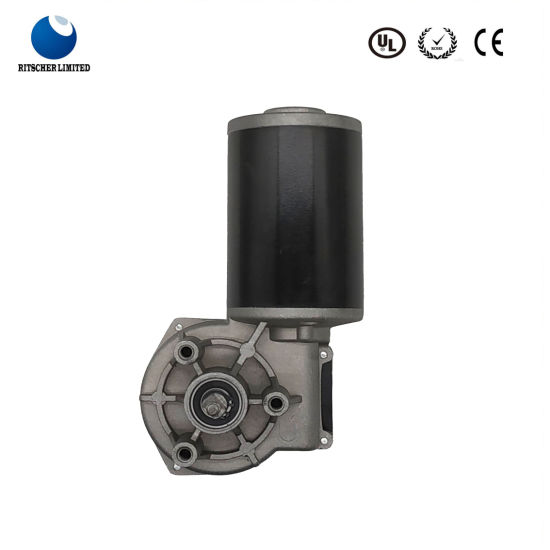 100W Torque DC Worm Gear Engineering Oil Pump Motor