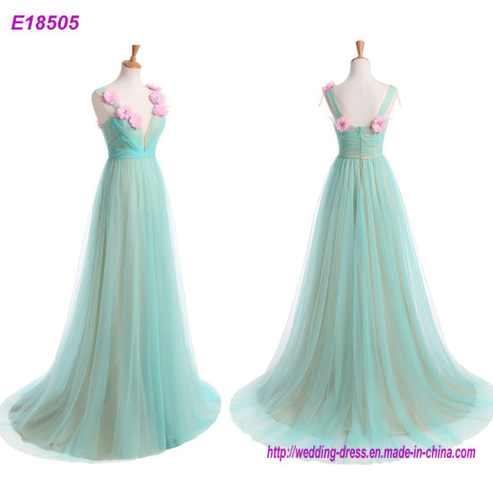 Long Chiffon Wedding Evening Formal Party Prom Bridesmaid Dress