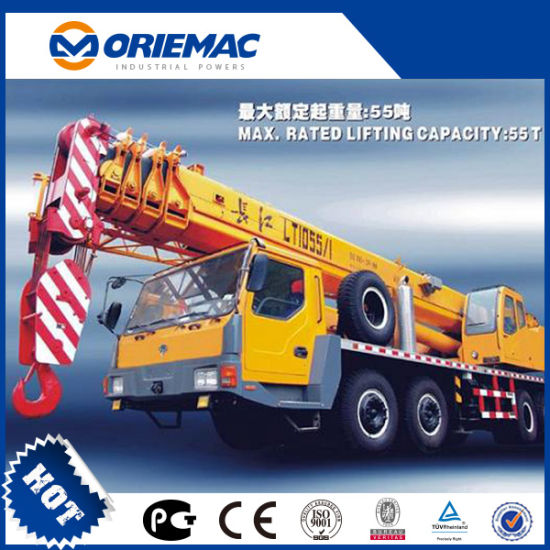 Terex Changjiang 55ton Truck Crane Toplift 055g pictures & photos