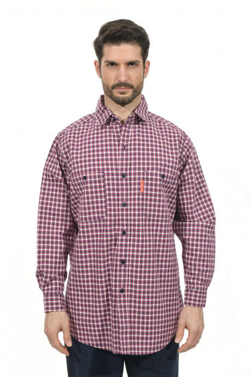 Hot Sell OEM or ODM Flame Resistant Cotton Plaid Work Shirt pictures & photos
