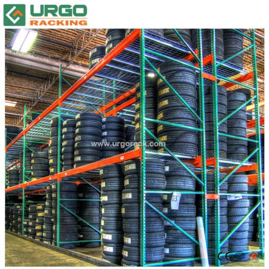 Selective Industrial Warehouse Shelving Teardrop Pallet Storage Rack