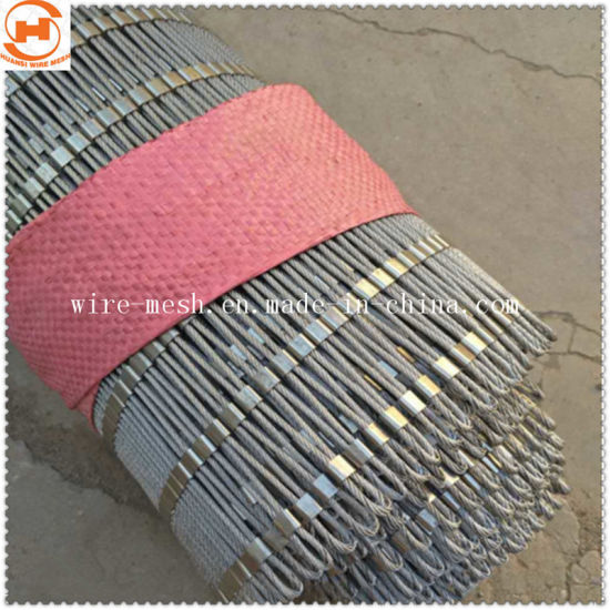 Hand Woven 304 Stainless Steel Rope Decorative Mesh Netting