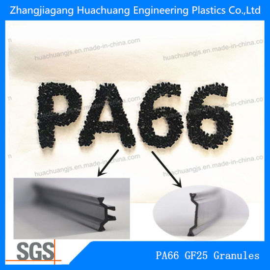 Virgin/Recycled PA66 Polyamide Granules with 45% Glass Fiber
