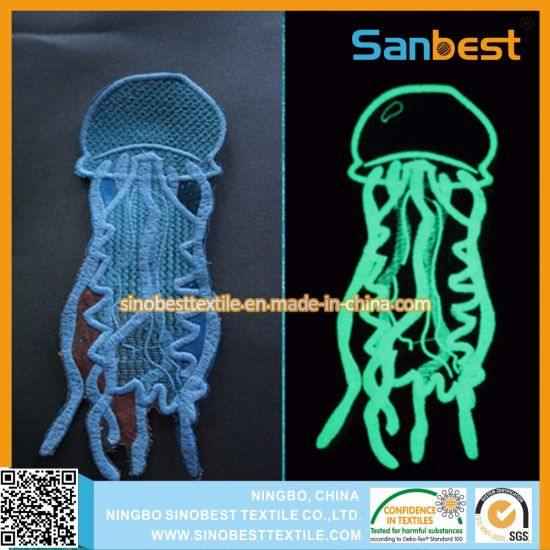Glow-in-Dark Embroidery Thread with High Quality for Garments pictures & photos