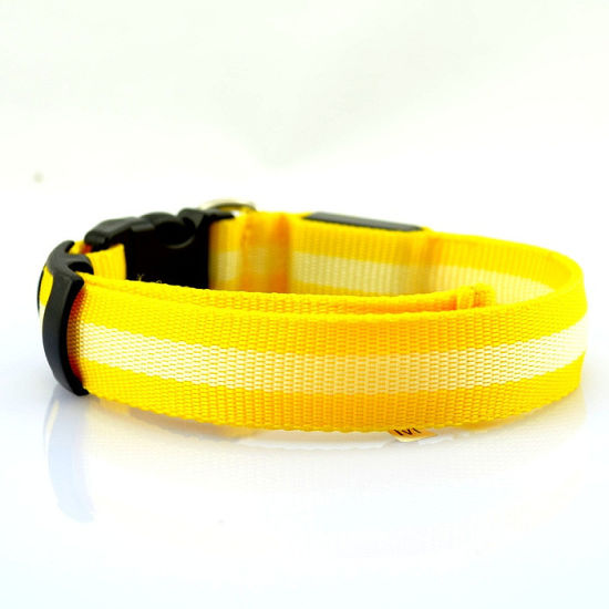 7 Colors Nylon Leash Electric Pet Supplies LED Dog Collar Pet Products pictures & photos