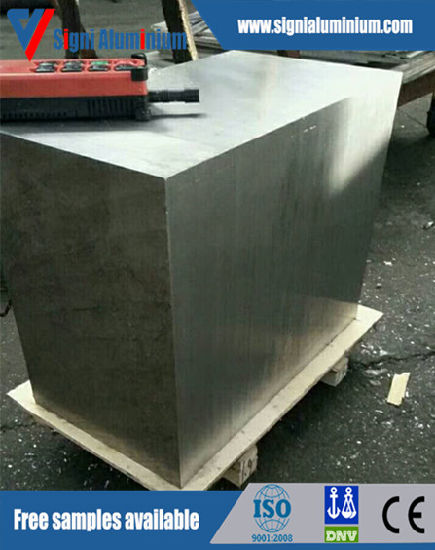 Aluminium Block 7075 7005 T6/T651 for Mold