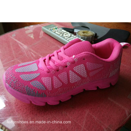 Good Price Women Sports Shoes Athletic Shoe Running Shoes Sneakers Shoes (ZJXD-5) pictures & photos