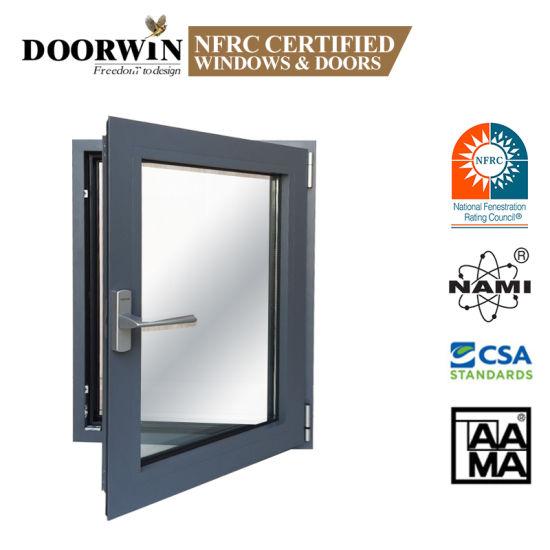 Doorwin Series Aluminum Frame Casement Picture Aluminum Window and Door with Mosquito Net for Bedroom