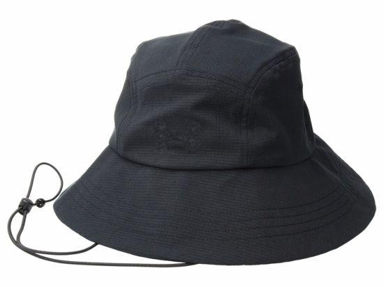 China Wholesale Custom 100% Cotton Blank Bucket Men Hat Black with ... 8c0944db4573