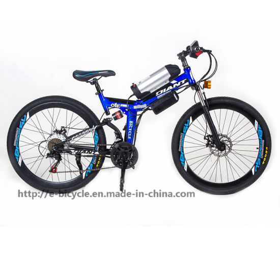 Hot Style Folding Electric Pocket Bicycle pictures & photos
