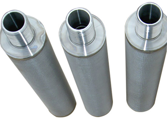Stainless Steel Perforated Metal Wire Mesh Filter Element