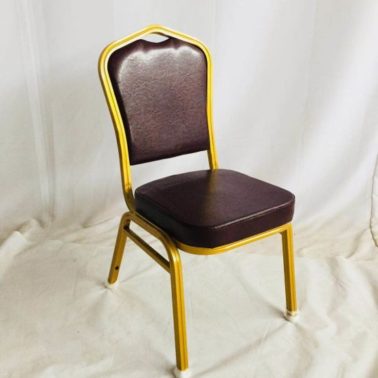 Modern Price Steel Fabric Wedding Reception Banquet Hall Furniture Used Banquet Hall Chairs