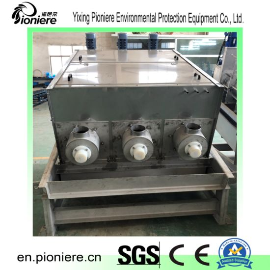 Dairy Sewage Screw Press Sludge Dewatering Machine for Waste Water Treatment Plant pictures & photos