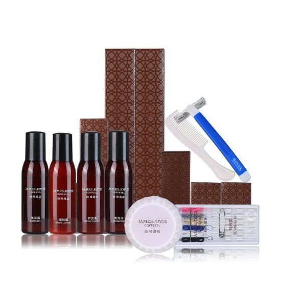Customized Logo Luxury Hotel Bedroom Amenities Bathroom Hotel Amenities for Toiletries Wholesale