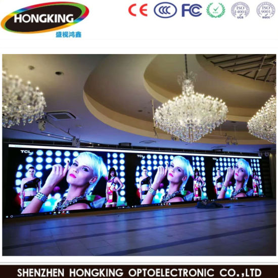 Indoor Full Color P2.5 High Definition LED Video Wall