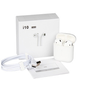 I10 Tws 1: 1 Wireless Earbuds Stereo Headset Auto Pairing Earphones with Type-C USB Cable