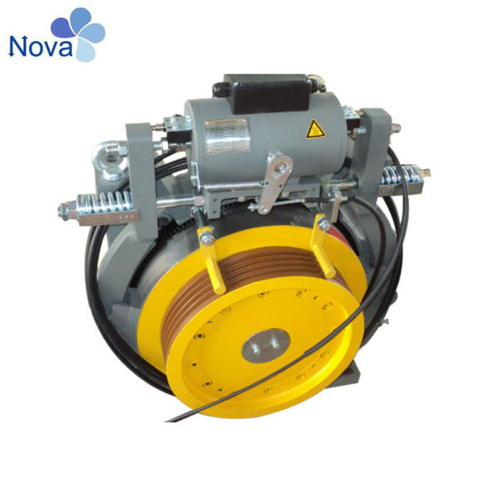Selling Gearless Traction Machine 2: 1 AC380V Vvvf Control