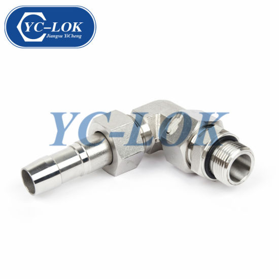 Male Equal Hexagon 90 Degree Swivel Elbow Pipe Fitting on Sale