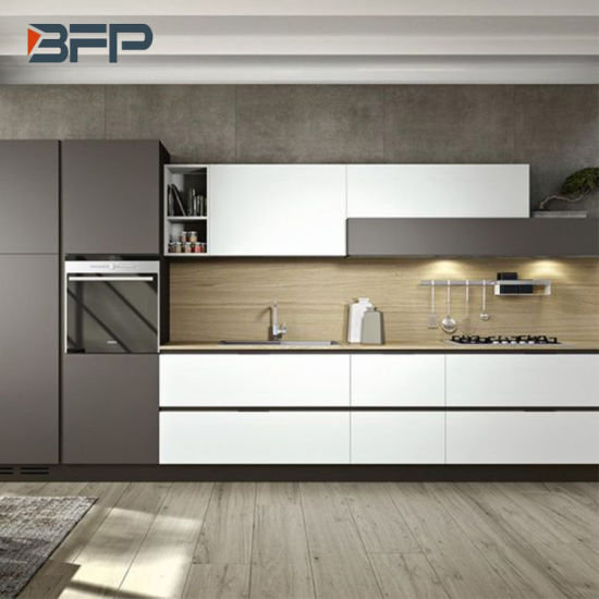 Modern Kitchen Colours And Designs: China Modern Style Lacquer Matt Finish Mixed Color Kitchen