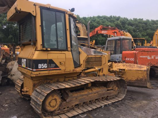 New Model Used Cat Bulldozer D5g LGP 85% Undercarriage A/C Working Old Paint
