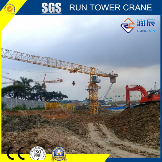 6016-8 Topless Tower Crane with Ce and SGS Certificate for Construction