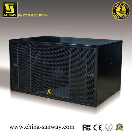 Double 18 Inch Subwoofer Speaker (S8028)