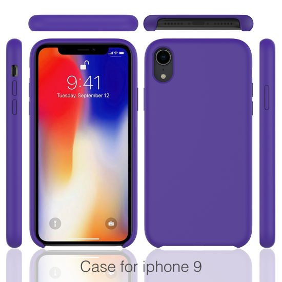 iphone xr slim silicone case