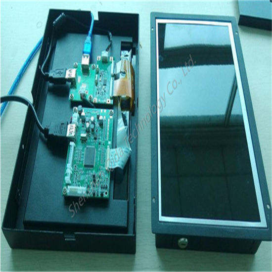 "7"" 10"" 15"" 18"" 21"" LCD Display Touch Screen Open Frame with HDMI VGA USB Port pictures & photos"