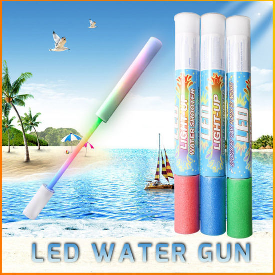 Novelty Kids Pool Toy LED Glow Water Gun with Patent