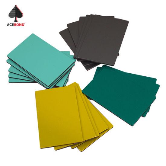 Acebond Fireproof Decoration Material 10mm Aluminum Composite Panel
