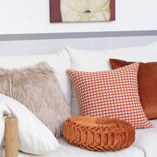 Round Decorative Pillow Large Velvet, Large Round Sofa Bed