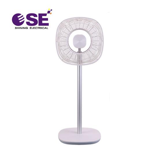 Intelligent Rose Metal DC 14 Inch Oscillating Stand Fan