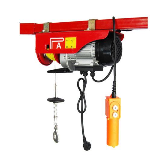 Construction Electric Hoist PA 600 Electric Hoist Winch 220V
