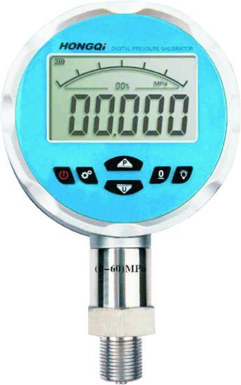 Factory Price OEM Frd 0-100MPa Air Oil Water Battery Digital Pressure Gauge Hongqi