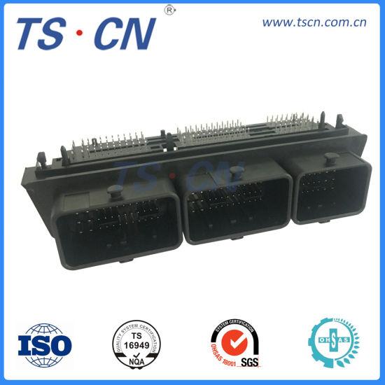 Molex Electrical Automotive Male ECU Vertical PCB Header Housing Connector 128 Ways PCB Header Connector 23430101 128pin