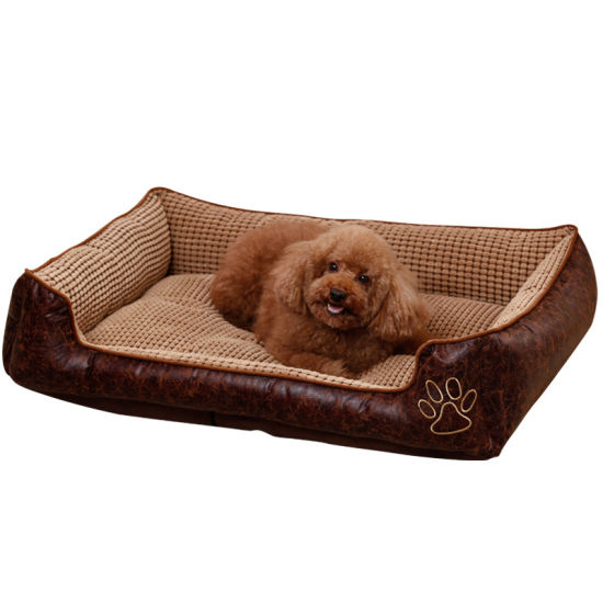 Manufacture Durable Dog Bed Sofa with Cooling Mattress for Summer pictures & photos
