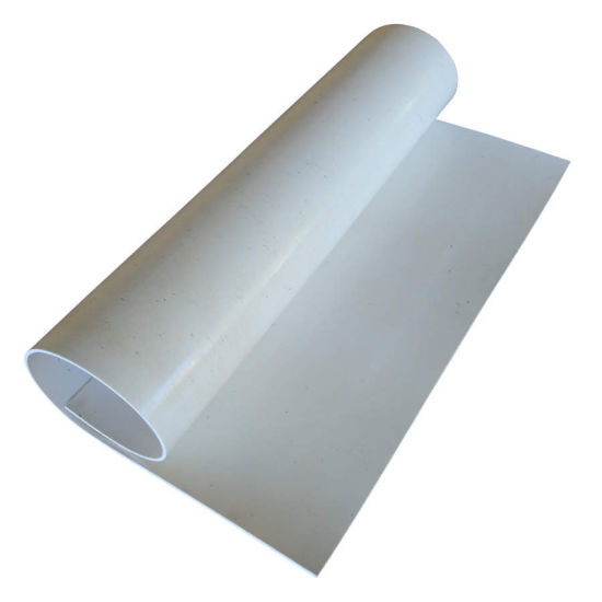 Non Slip White Color Rubber Mat Roll
