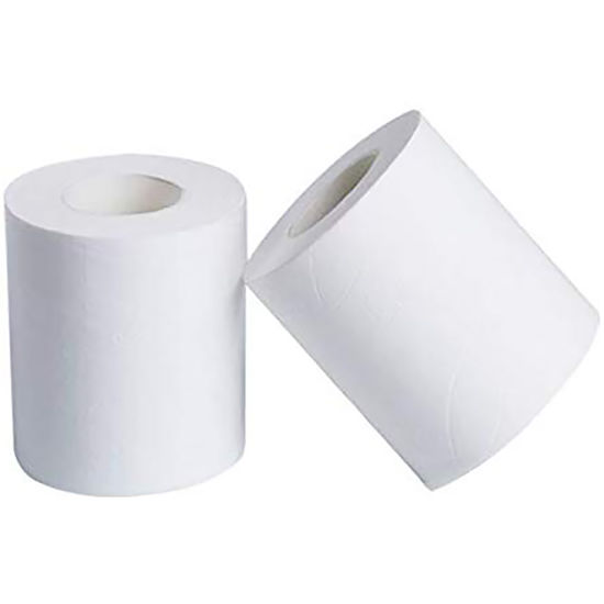 100% Virgin Wood Pulp Toilet Paper Roll