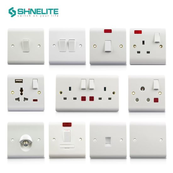 2 Gang Switched Socket with 3400mA USB Socket