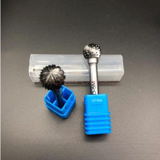 Flame Shape Carbide Bur Cutting Tool Burr Abrasive SH6 Single Cut Tungsten NEW