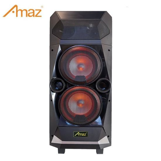 Amaz Al9906 Extra Bass Double 6 Inch Disco Light Portable Bluetooth Speaker