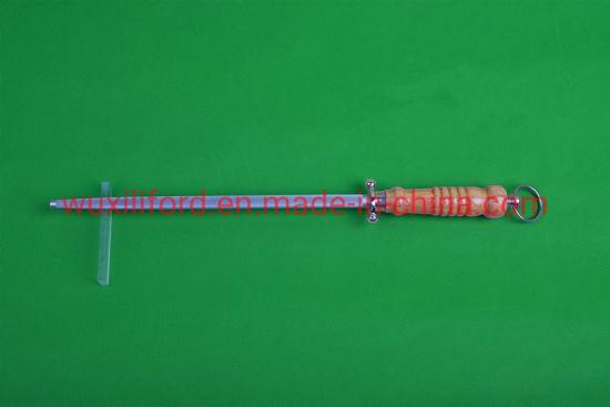 China Factory Price Diamond Stone Kitchen Knife Blade Sharpener Rod