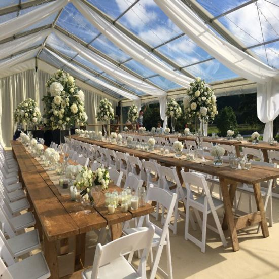 15m Clear Span Luxury Party Wedding Tent for Celebration pictures & photos
