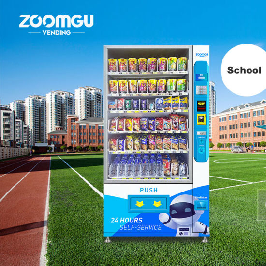 Zg Automatic Drink and Snacks Vending Machine with Cooling System